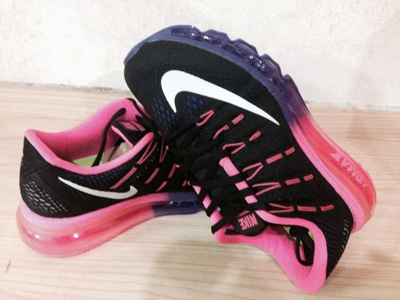 Nike Air Max 2016 Black Pink Shoes For Women