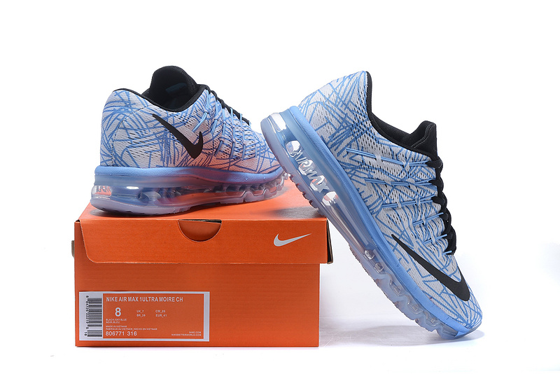 Nike Air Max 2016 Jade Blue Black Shoes