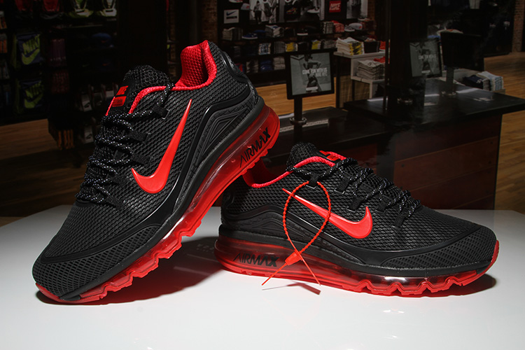 Nike Air Max 2018 Elite Black Red Shoes