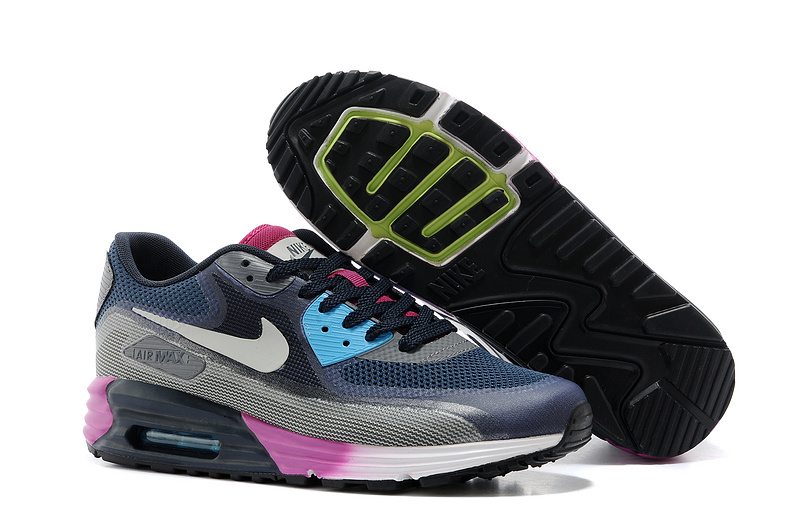 Nike Air Max 25th Anniversary Black Blue Grey Purple
