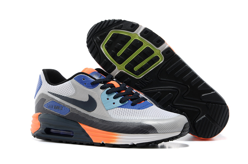 Nike Air Max 25th Anniversary Grey Black Orange