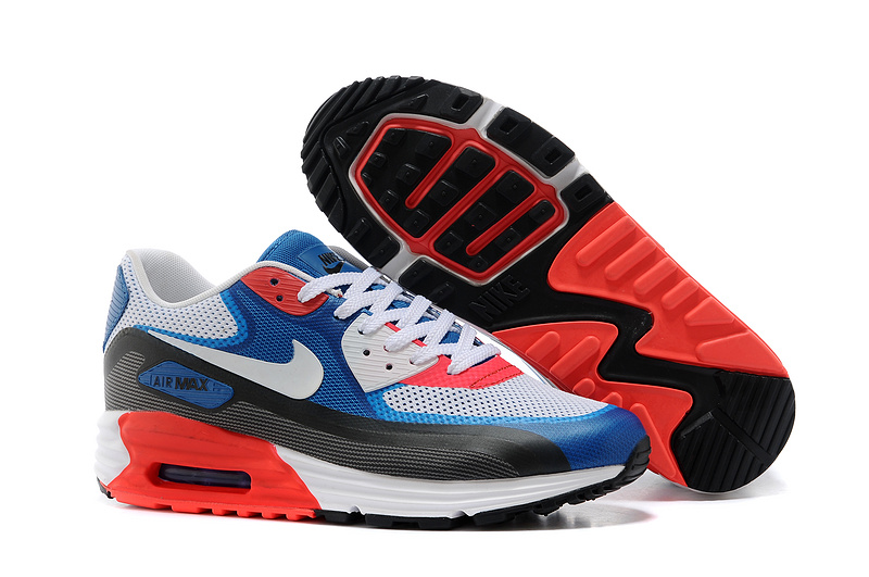 Nike Air Max 25th Anniversary White Blue Black Red