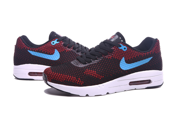 Nike Air Max 87 II Black Wine Red Blue Shoes