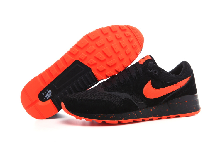 Nike Air Max 87 Retro Black Orange Shoes