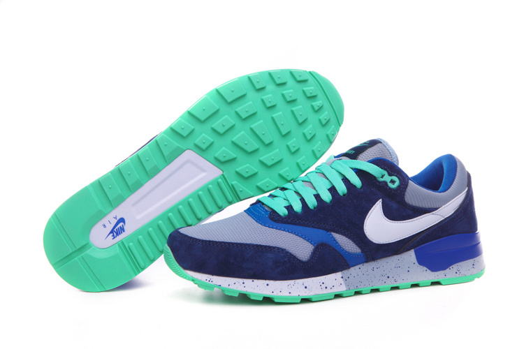 Nike Air Max 87 Retro Blue Grey Green Shoes