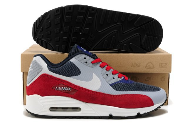 Nike Air Max 90 HYP PRM Grey Black Red White