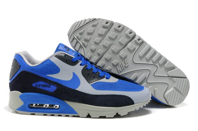 Nike Air Max 90 HYP PRM Grey Blue Black