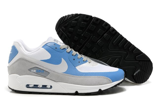 Nike Air Max 90 HYP PRM White Blue Grey