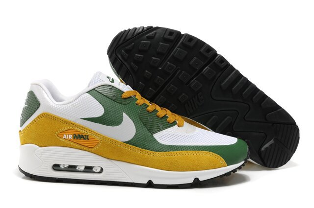 Nike Air Max 90 HYP PRM White Green Yellow