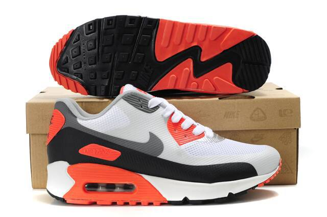 Nike Air Max 90 HYP PRM White Grey Black Orange