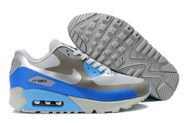 Nike Air Max 90 HYP PRM White Grey Blue