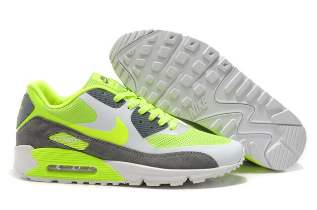 Nike Air Max 90 HYP PRM White Grey Yellow