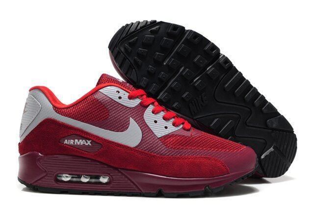 Nike Air Max 90 HYP PRM Wine Red Grey