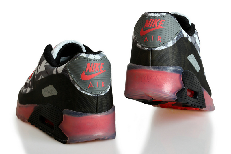 Nike Air Max 90 ICE Black Grey Red