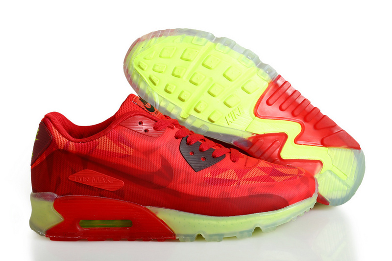 Nike Air Max 90 ICE Red Yellow