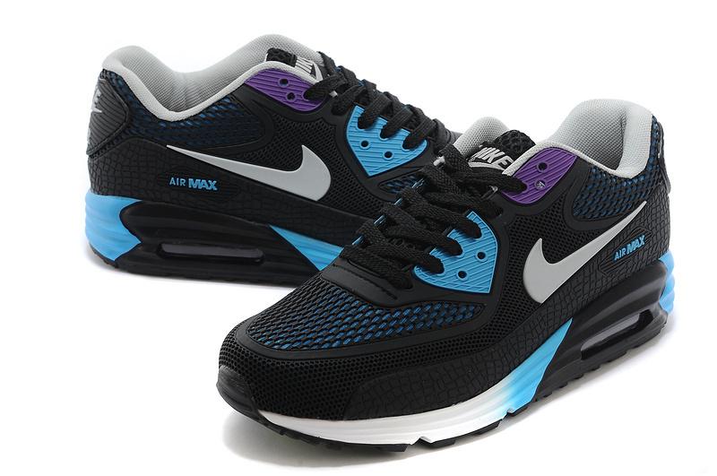 Nike Air Max 90 Rubber Patch 25th Anniversary Peach Black Blue White For  Women