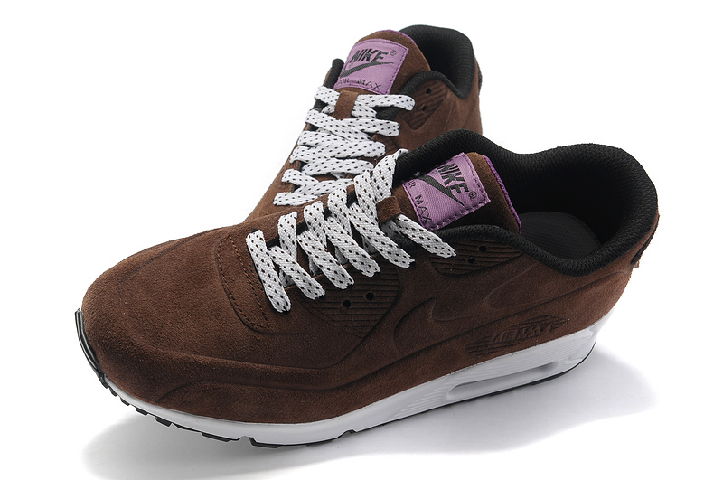 Nike Air Max 90 VT PRM Shoes Brown White