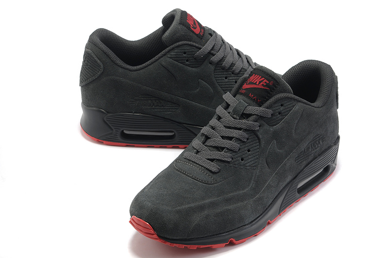 Nike Air Max 90 VT PRM Shoes Grey Red