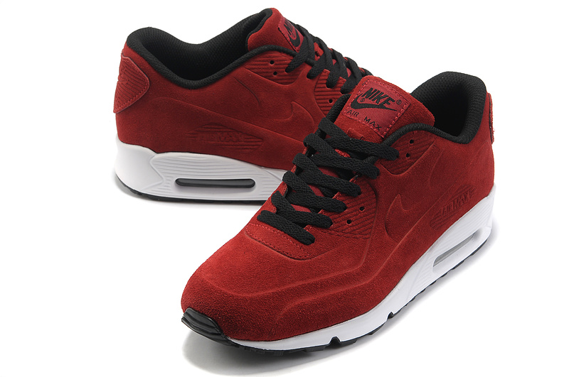 Nike Air Max 90 VT PRM Shoes Red Black White
