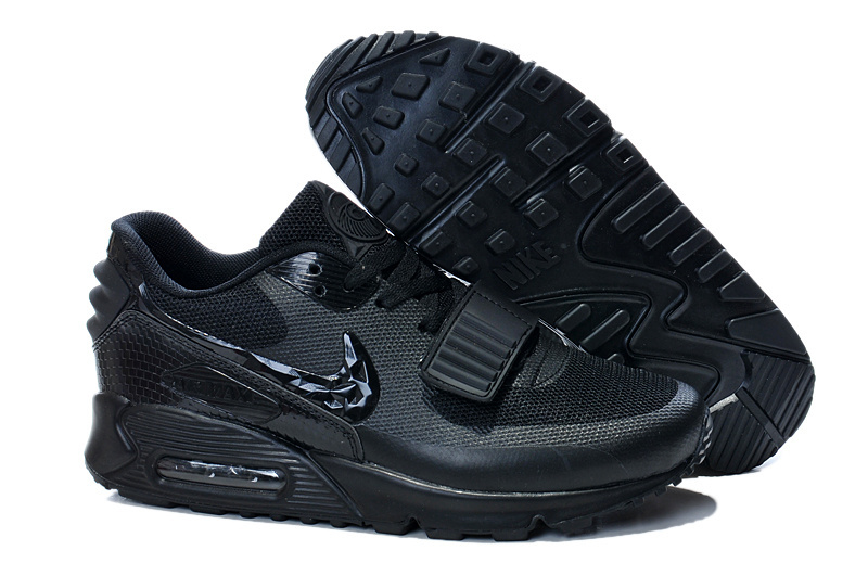 Nike Air Max 90 Yeezy All Black Shoes