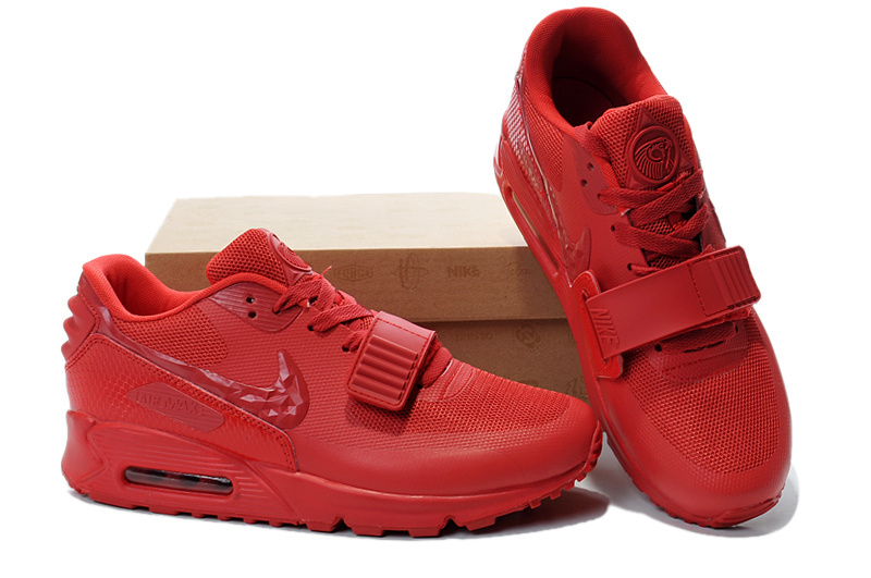 Nike Air Max 90 Yeezy All Red Shoes