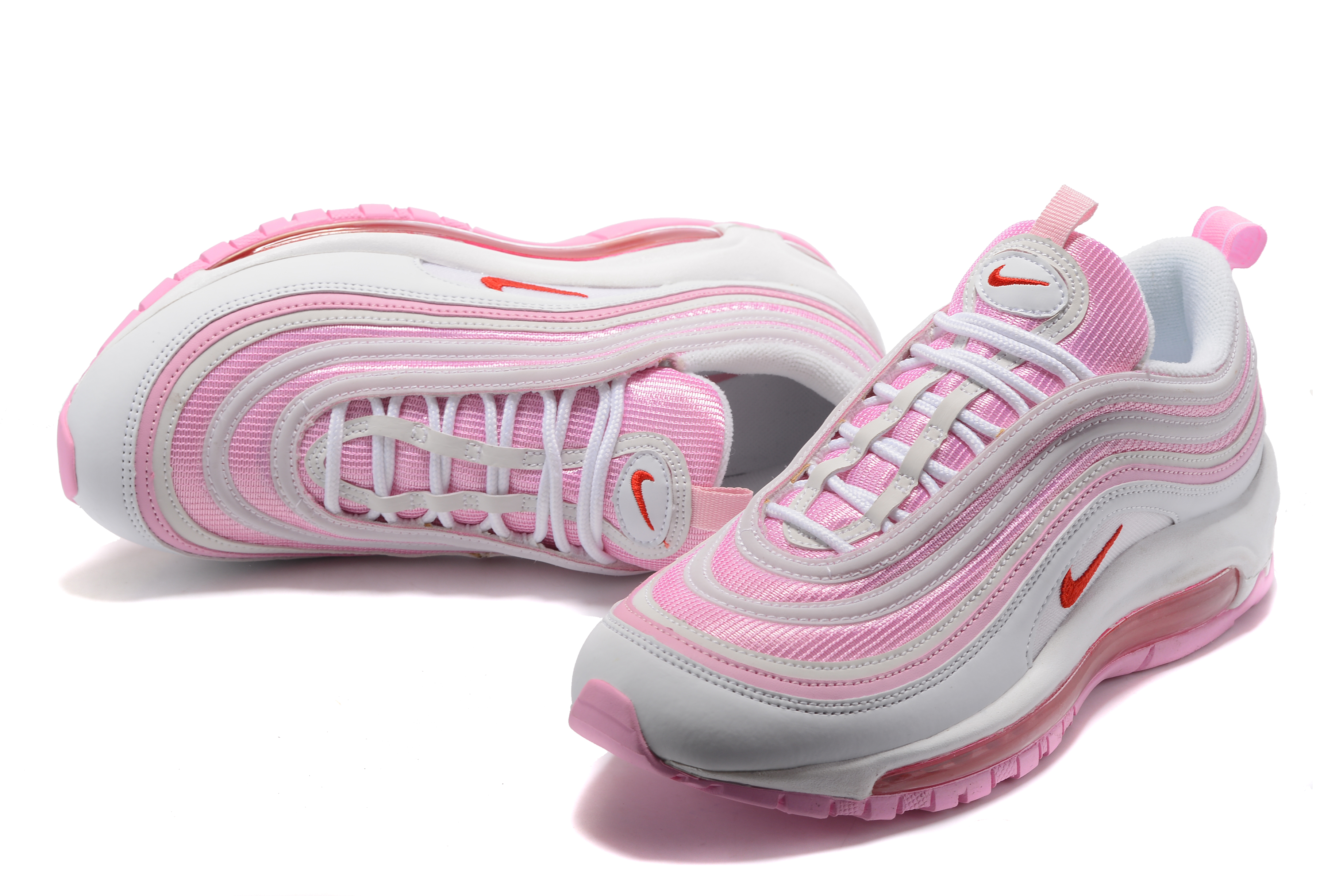 Nike Air Max 97 Pink Grey For Women