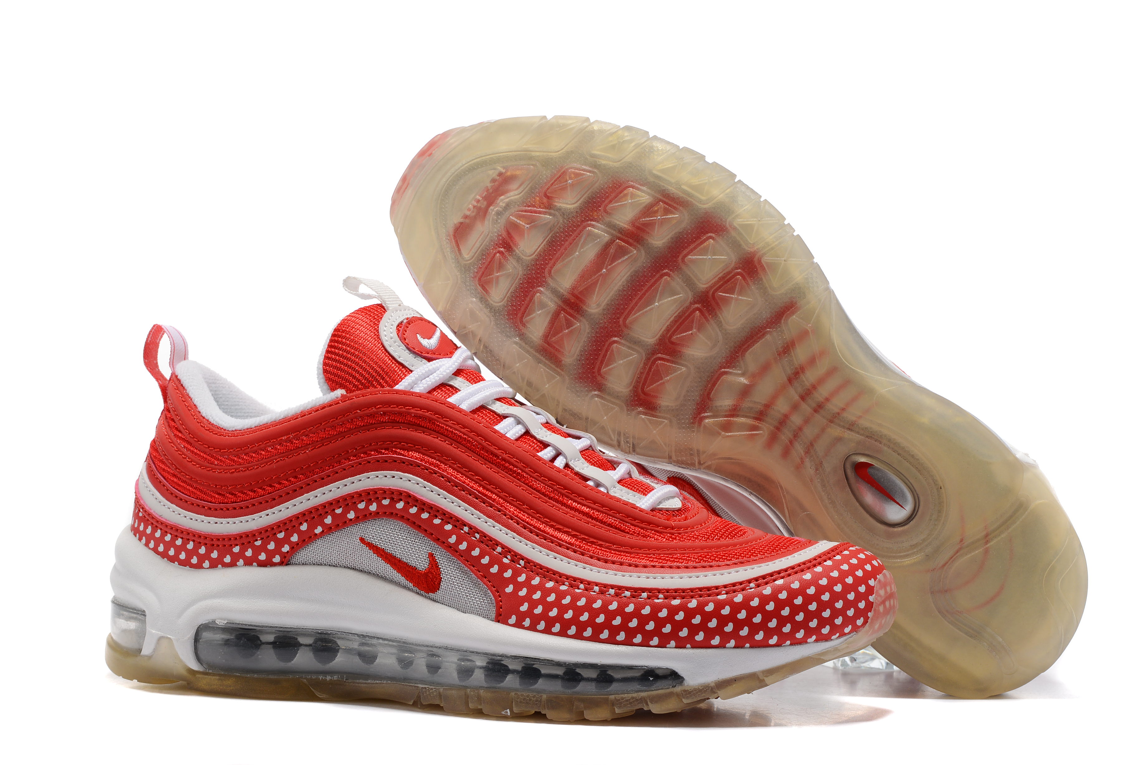 Nike Air Max 97 Red White For Women