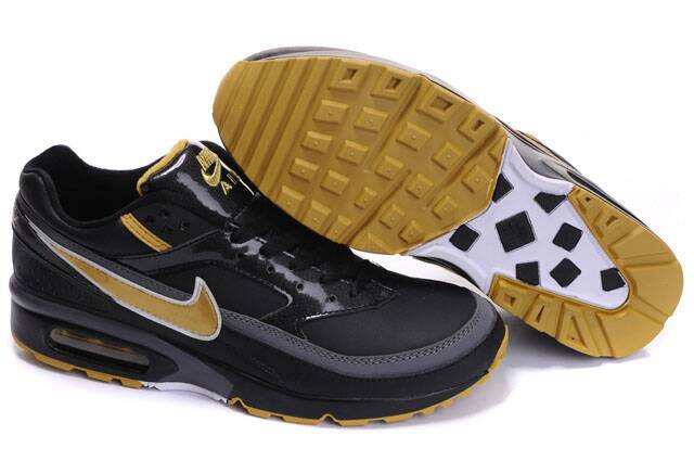 Nike Air Max BW Shoes Black Gold