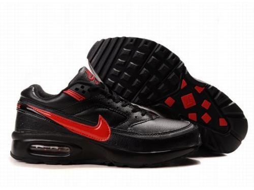 Nike Air Max BW Shoes Black Red