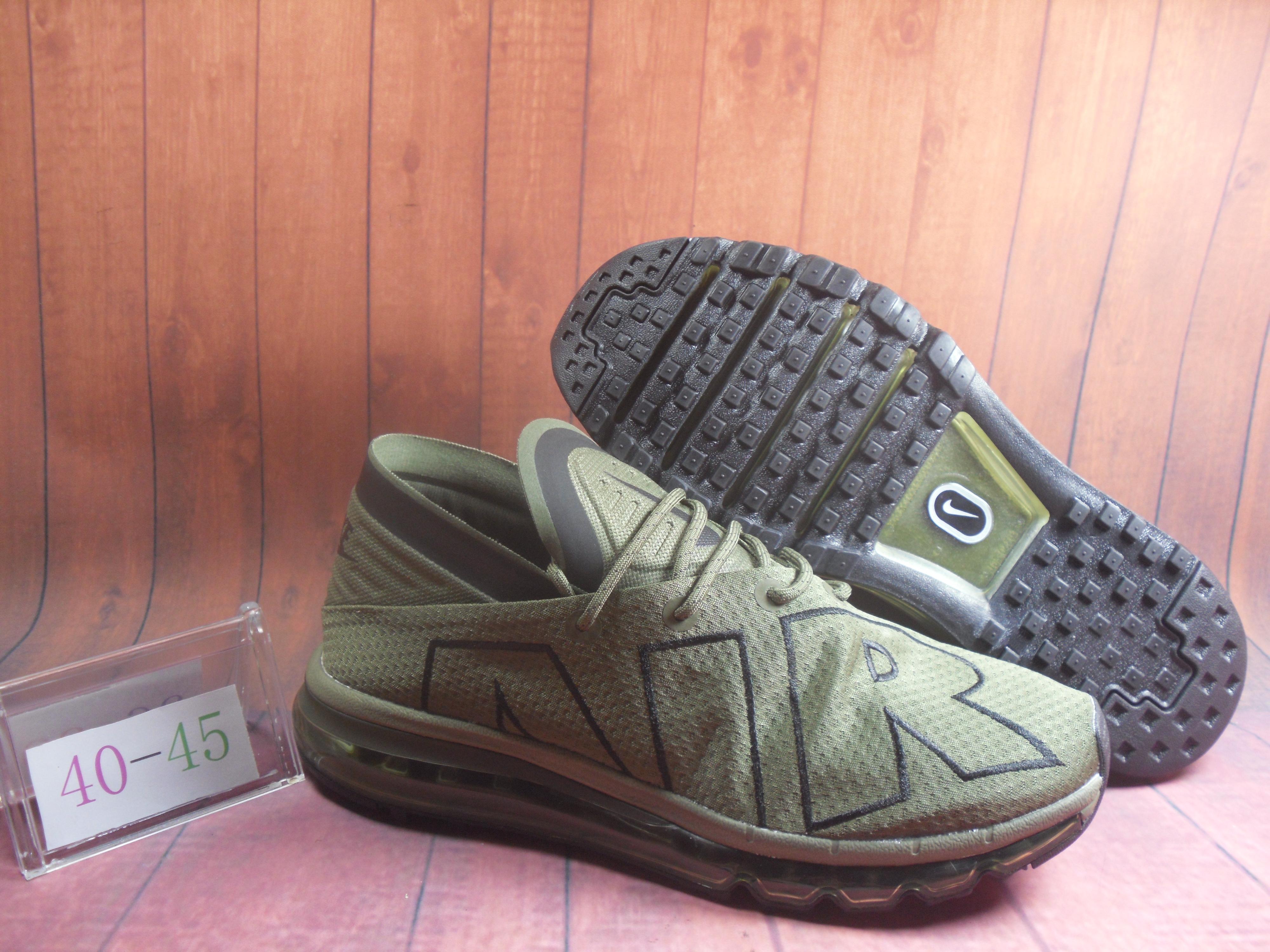 Nike Air Max Flair Army Green Black