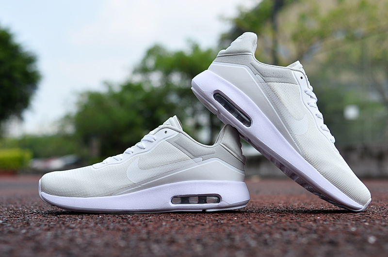 2017 Nike Air Max Modern All White Shoes