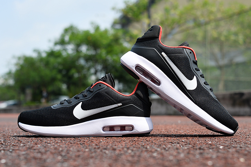 2017 Nike Air Max Modern Black White Red Shoes