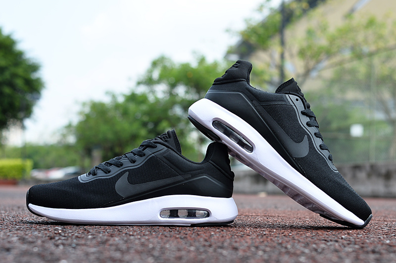 2017 Nike Air Max Modern Black White Shoes