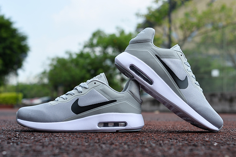 2017 Nike Air Max Modern Grey White Black Shoes