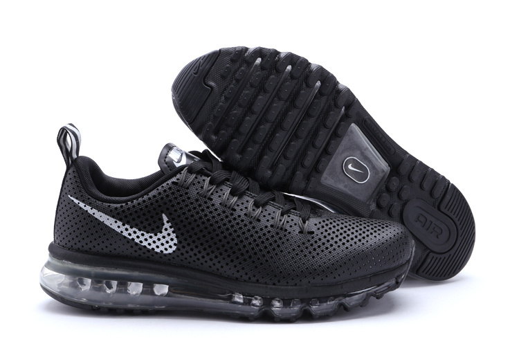 Nike Air Max Motion 2014 Shoes All Black
