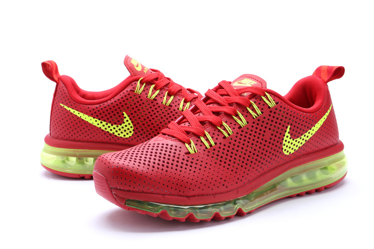 Nike Air Max Motion 2014 Shoes Red Green