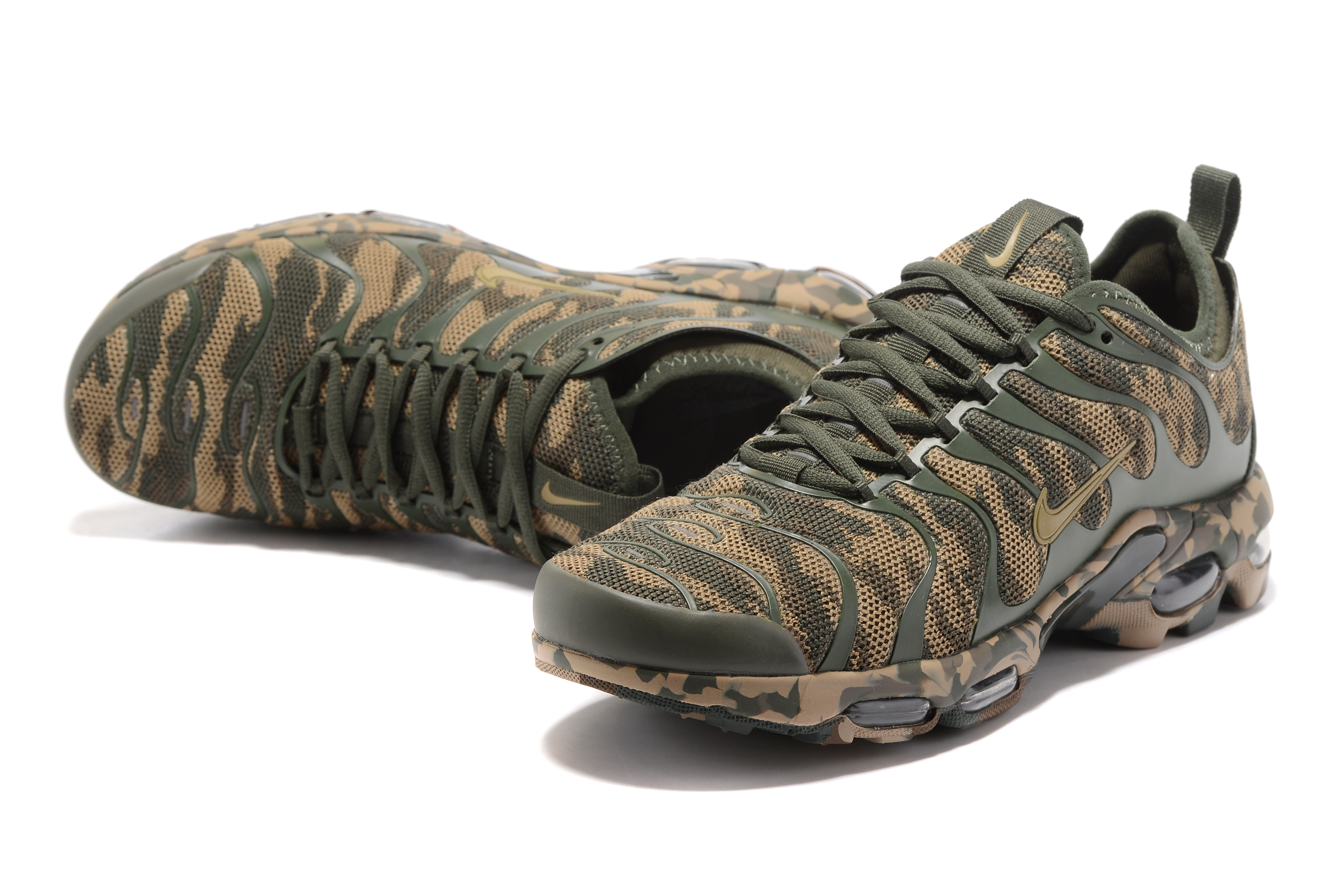 Nike Air Max Plus TN Camo Green Shoes