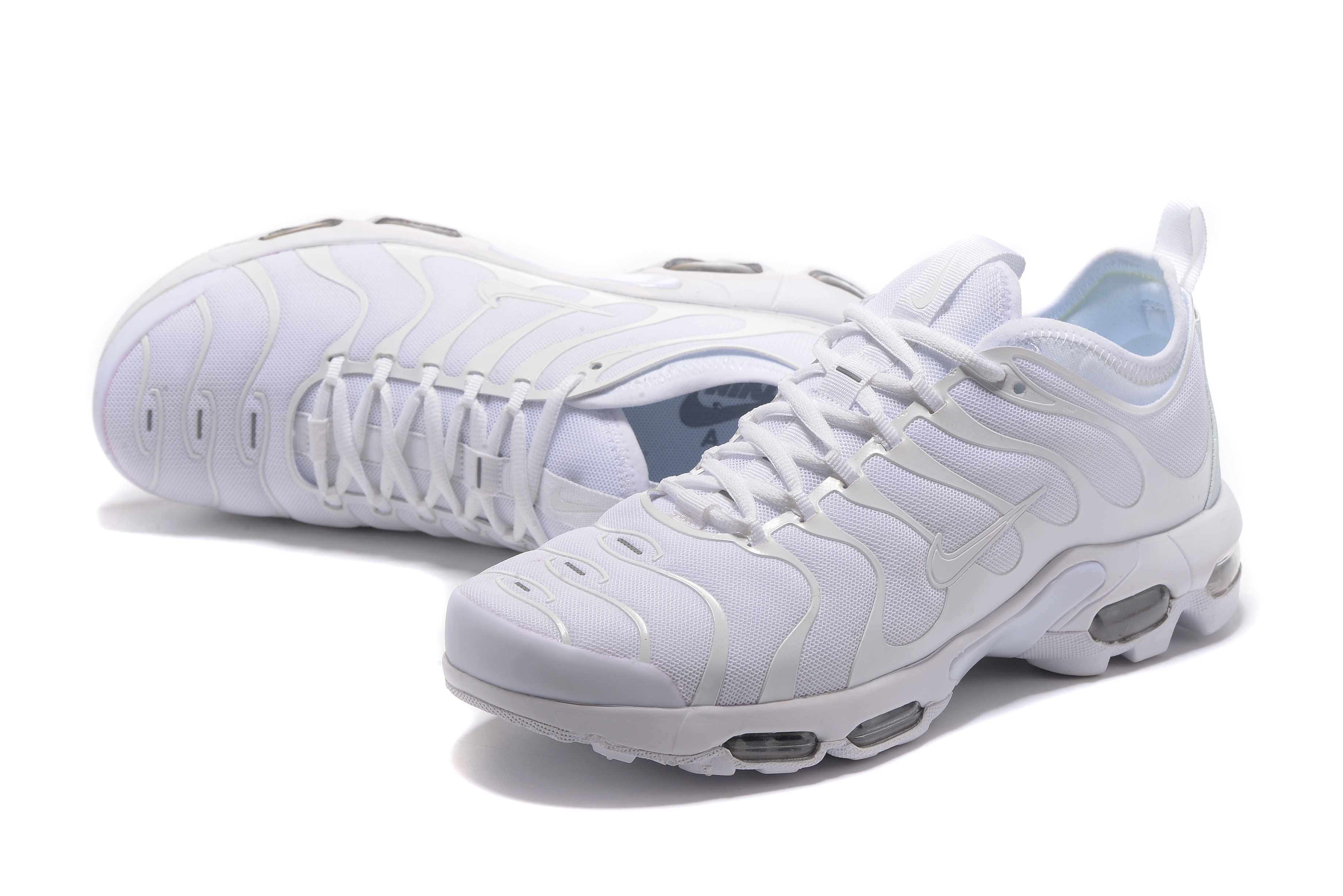 Nike Air Max Plus TN White Silver Shoes