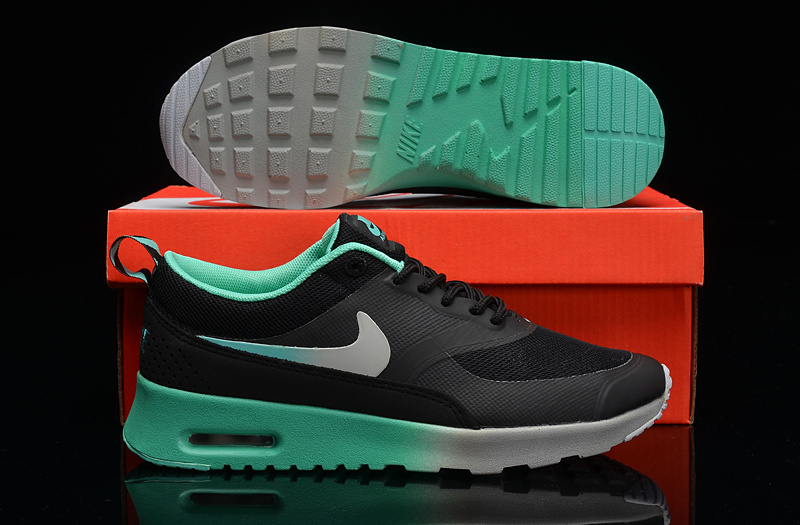 Nike Air Max THEA PRINT Black Grey Green