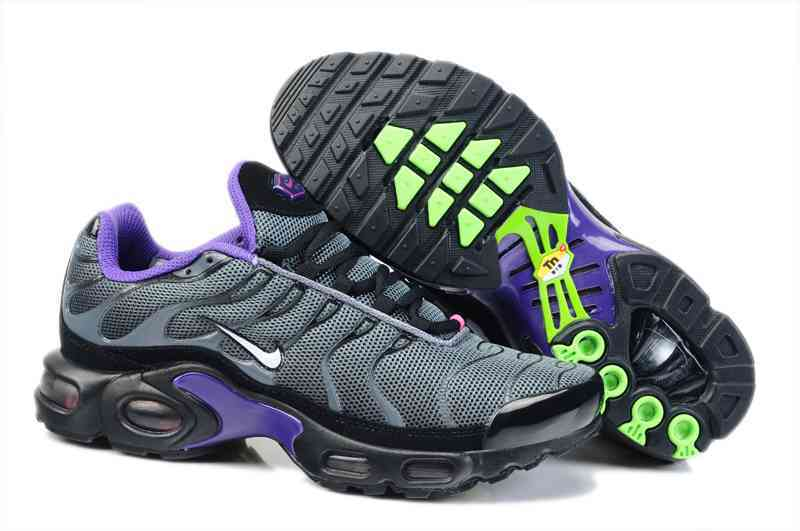 Nike Air Max TN Shoes Black Purple