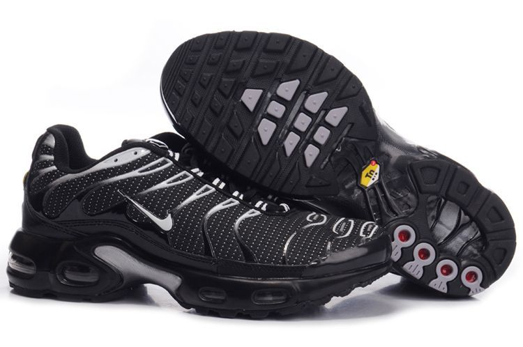 Nike Air Max TN Shoes Black Silver