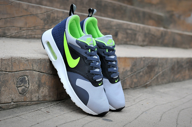 Nike Air Max Tavas Air Max 90+97 Black Grey Blue Volt Shoes