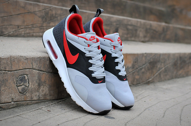 Nike Air Max Tavas Air Max 90+97 Grey Black Red Shoes