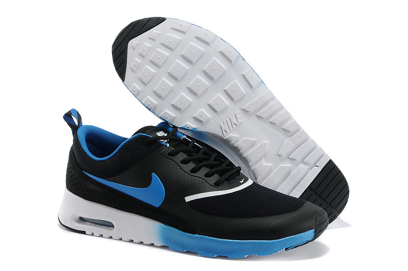 Nike Air Max Thea 90 Shoes Black Blue