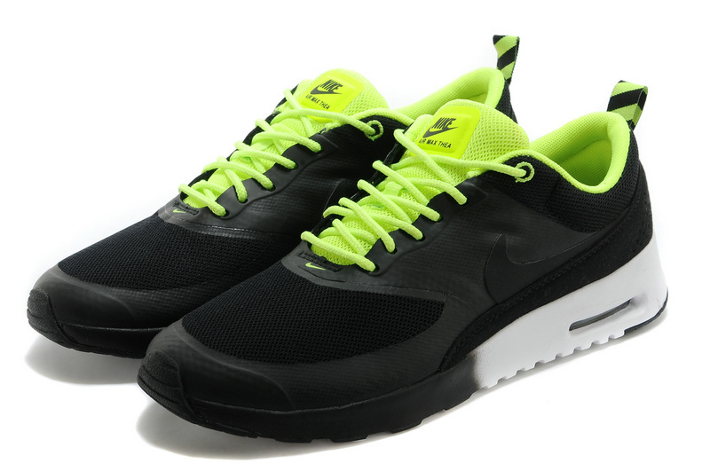 Nike Air Max Thea 90 Shoes Black Green