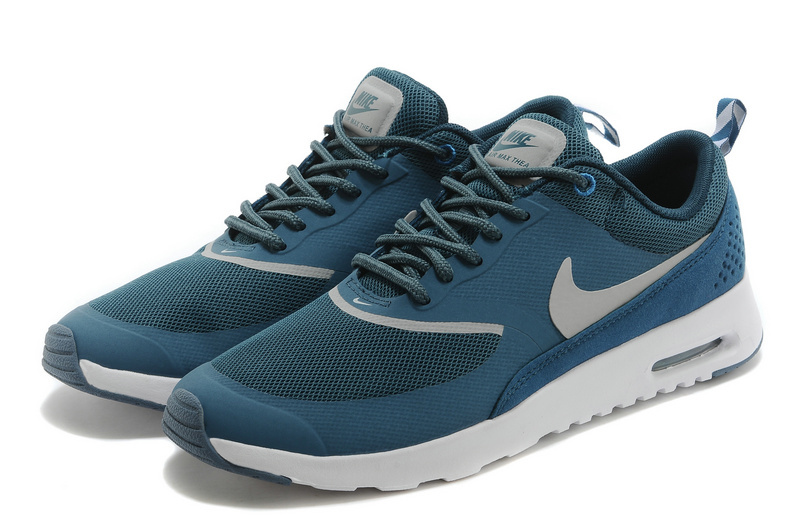 Nike Air Max Thea 90 Shoes Blue Grey