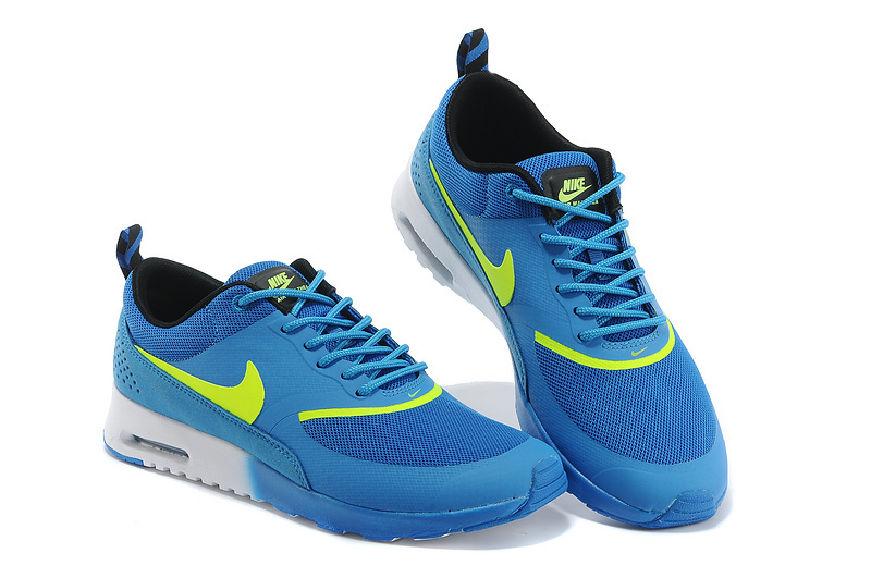 Nike Air Max Thea 90 Shoes Blue Yellow