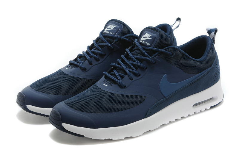 Nike Air Max Thea 90 Shoes Dark Blue