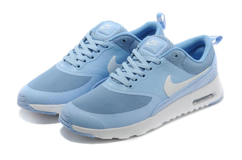 20b9f41f9c8 Women s Nike Air Max Thea 90 Shoes Light Blue