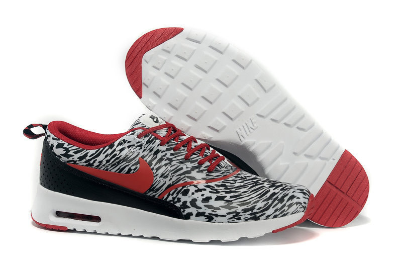 newest 90b03 5a2cf Nike Air Max Thea Print Snow Cheetah Print Shoes [Nike3183 ...